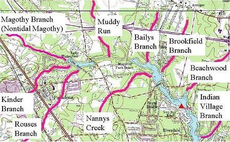 Upper Magothy Creeks